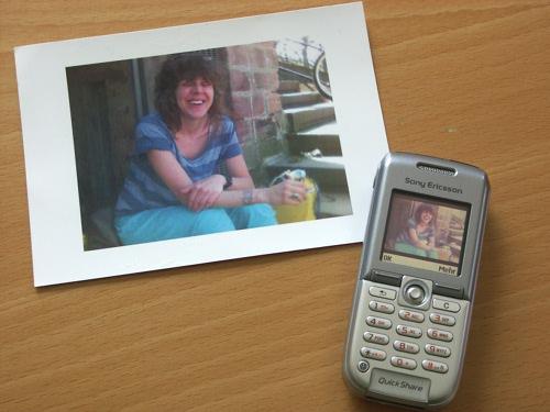 MMS Postkarte