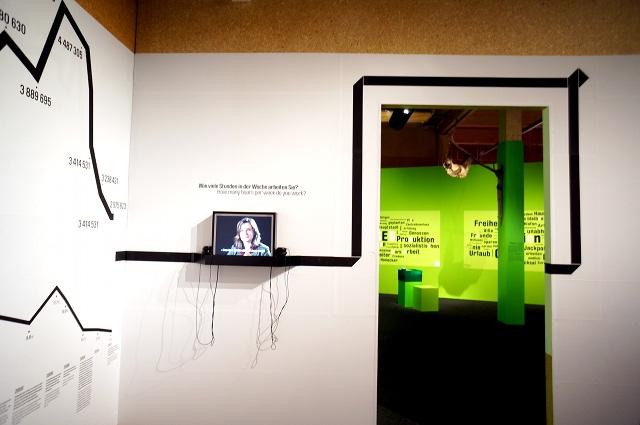 Ausstellung: Was tun? Raum 0. Foto: Tine Nowak