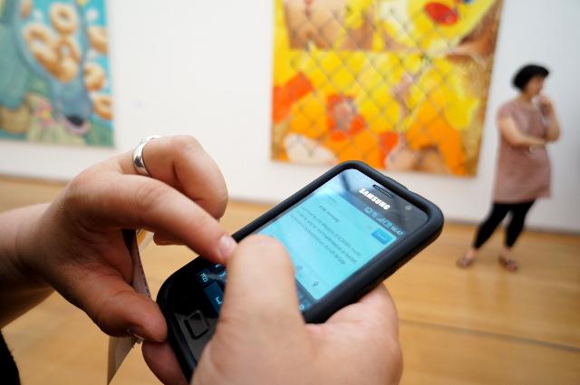 Schirn Up - Bloggertreffen zur Jeff Koons-Ausstellung. Foto: Tine Nowak