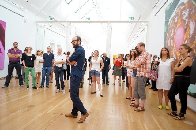 Schirn Up - Bloggertreffen zur Jeff Koons-Ausstellung, Foto: Tine Nowak