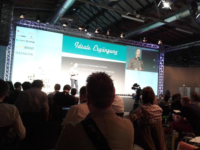Vortrag Stage 1 bei der Re:publica12 in Berlin, Foto: Tine Nowak