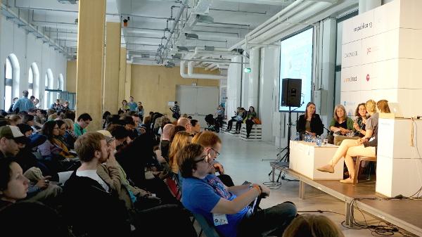 "Session: Kinderkram ""So nutzen Kids das Web"", Foto: Tine Nowak"