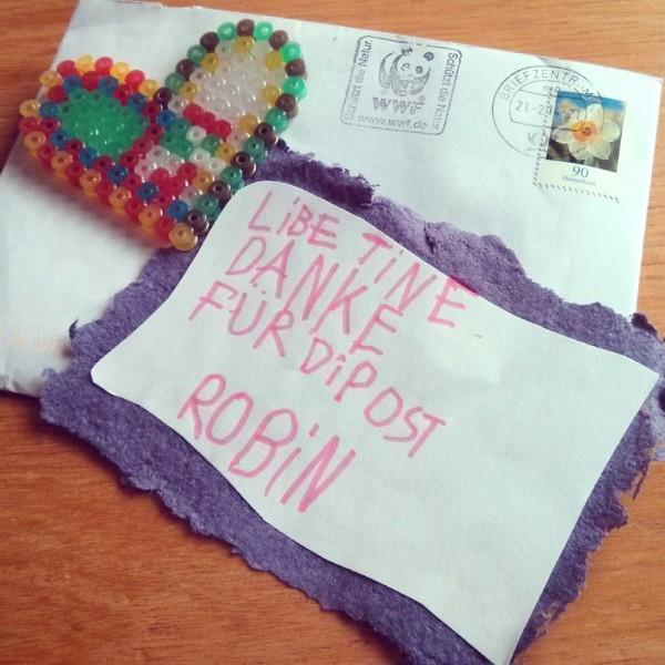 Ein Brief von Robin