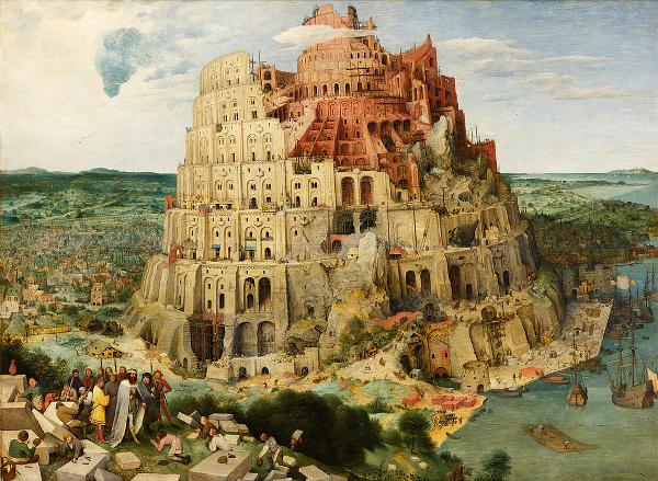 Turm von Babel - Pieter Brueghel der Ältere (Wien) Google Art Projekt - Gemeinfrei