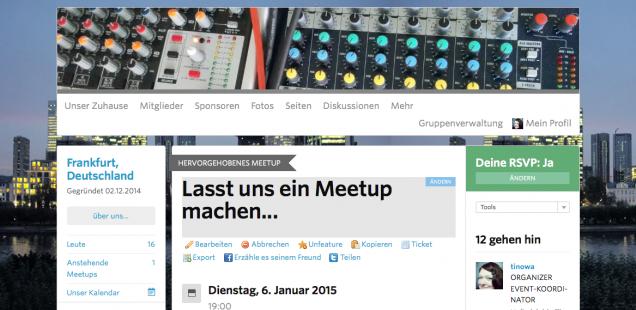 1. Podcast MeetUp Frankfurt/ Rhein-Main