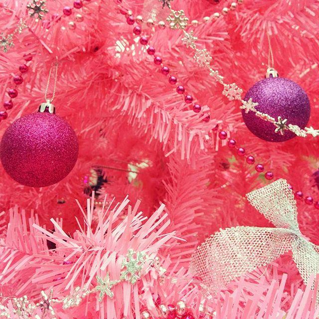 Der schönste Weihnachtsmarkt ist der rosa Weihnachtsmarkt.