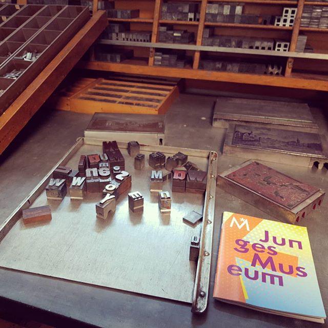 Eröffnungswochende des Jungen Museums @histmus: Druckwerkstatt